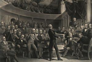 U. S. Congress scene