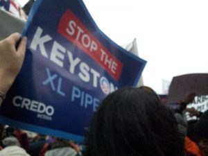 Keystone XL Protestors