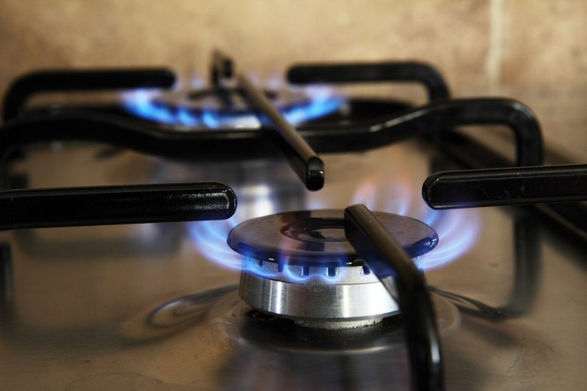 Gas-fired stove