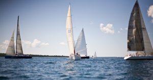 Sailing on Great Lakes